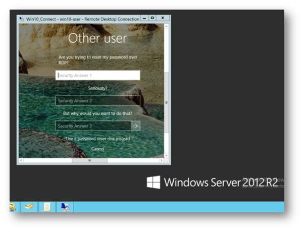 Other user Windows 10 Login